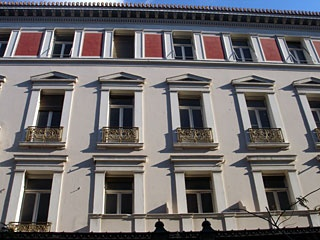 """Bagkeion"" hotel, Omonoia square.    Designed by Ernst Ziller  #opticametaxas"