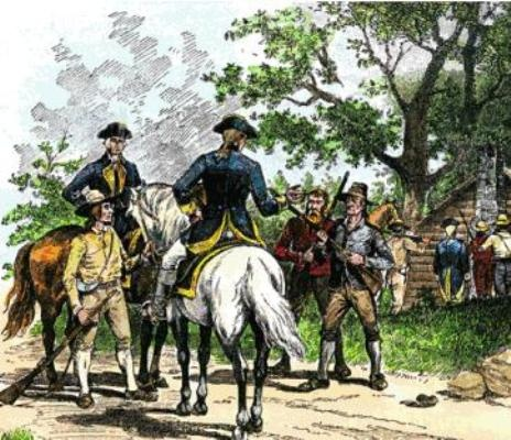 The conflict and government of the whiskey rebellion