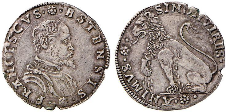 Francesco d'Este (1550-1578) -  Bianco della zecca di Massa Lombarda