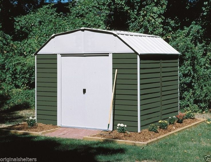 25 best ideas about metal storage sheds on pinterest for Cheap barn kits