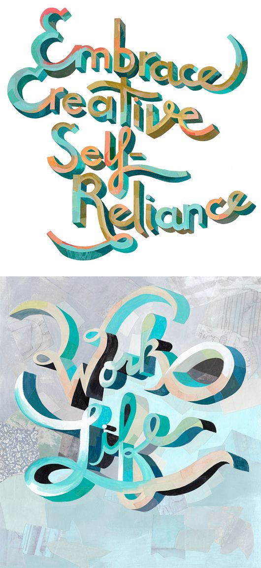 Awesome Hand-Lettering by Darren Booth