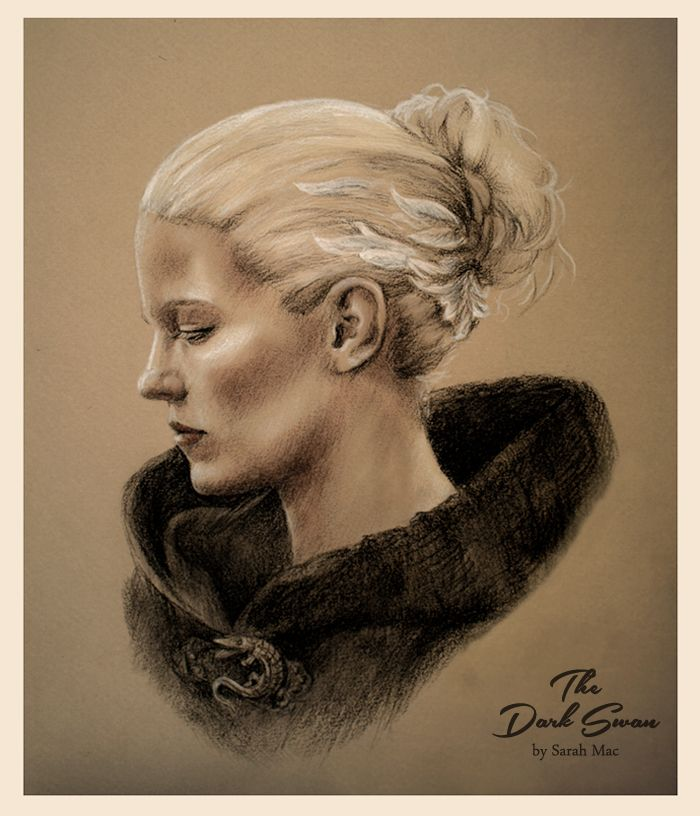 The Dark Swan - Once Upon a Time art. Emma Swan by Jennifer Morrison