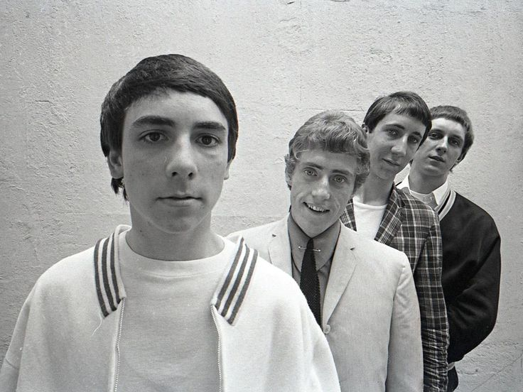 1964 - Keith Moon, Roger Daltrey, Pete Townshend and John Entwistle of the band The High Numbers. Photo by Alamy