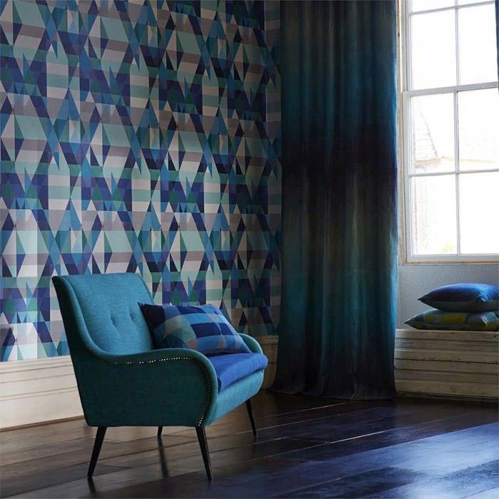 Bedroom Curtains At Sears Light Blue Carpet Bedroom Bedroom Color Ideas Diy Bedroom Wall Decor Ideas: Best 25+ Dark Blue Wallpaper Ideas On Pinterest