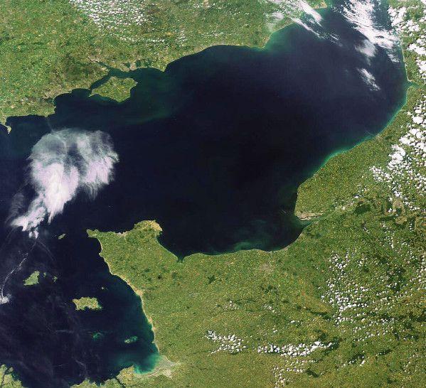 Envisat - MERIS - Normandie - Plages débarquement - 26-06-