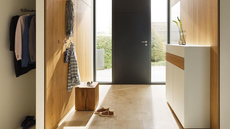 Entryway styling ideas to instantly impress.  Cabinetry by Wharfside.