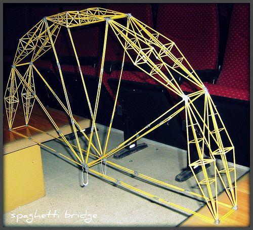 Spaghetti Pasta Bridge - Imageck