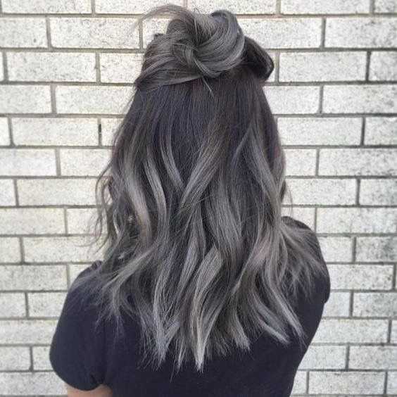 The 25 best silver highlights ideas on pinterest going grey there is 0 tip to buy this hair accessory hun grey hair wavy hair ombre hair hair dye pmusecretfo Image collections