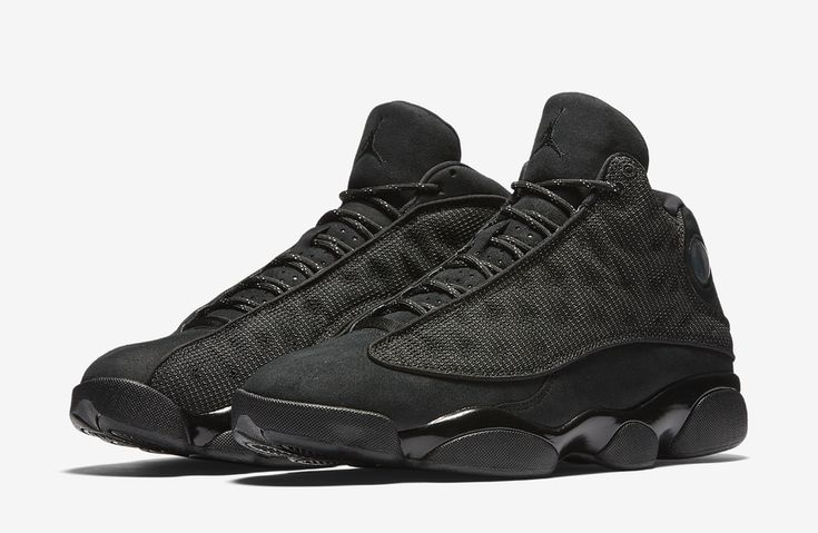 "Air Jordan XIII (13) Retro ""Black Cat""    -Release Date: Saturday, January 21st, 2017    -Price: $190"