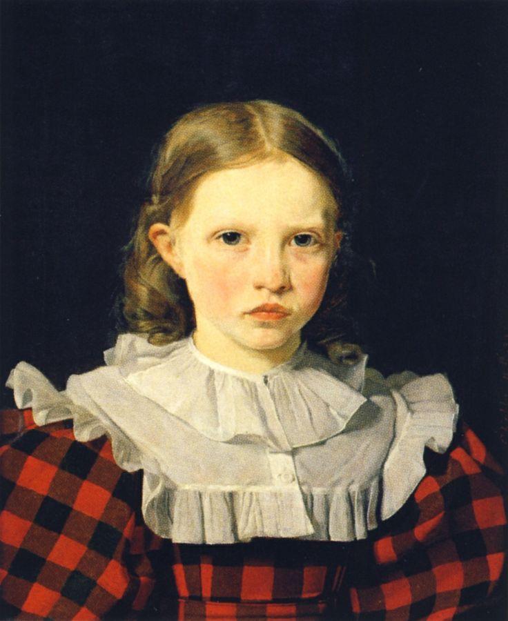 Christen Købke - Portrait of Adolphine Købke