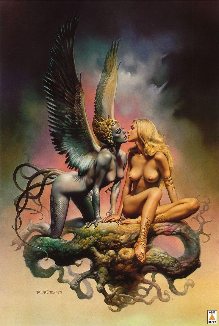 Boris Julie Exotic Art | Boris Vallejo Wallpapers