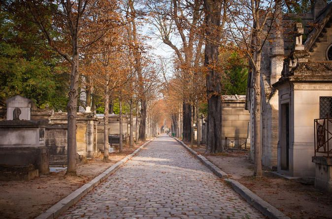 Paris Père Lachaise Cemetery Private Walking Tour Prepare for a truly surprising discovery on our 2.5 hour private tour through the Père Lachaise Cemetery, home to famous Paris residents like Jim Morison. This walking tour will explore the famous graves of this eastern Paris landmark. Good walking shoes are recommended.Join us for a Private Tour led by native/ fluent English speakers of the Père Lachaise Cemetery.Life, love and death have never had so much meaning as inside th...