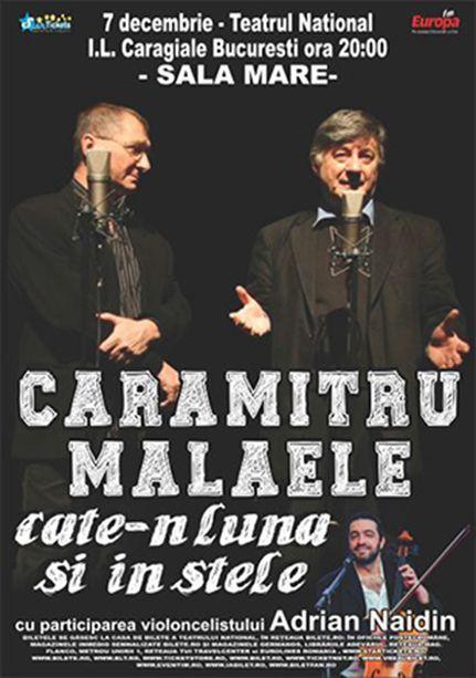 Luni, 7 Decembrie 2015, ora 20:00, Teatrul National, Sala Mare, Bucuresti