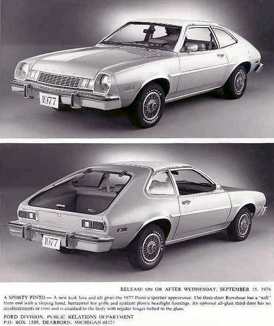 17 Best Images About Ford Pinto On Pinterest