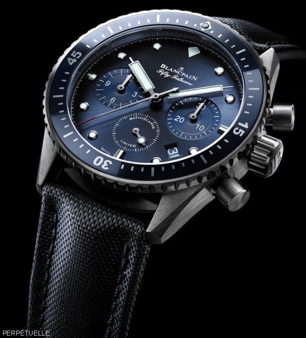 Blancpain Fifty Fathoms Bathyscaphe Chronograph Flyback Ocean Committment