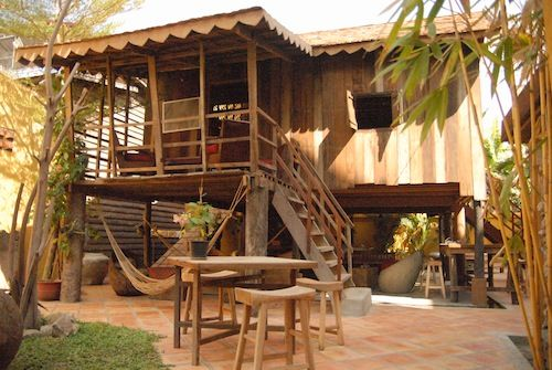 Asana Is One Of The Last Traditional Khmer Wooden Houses
