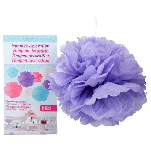 Pompons D Co De F Te 2pcs 30 40cm Div Diy Pinterest