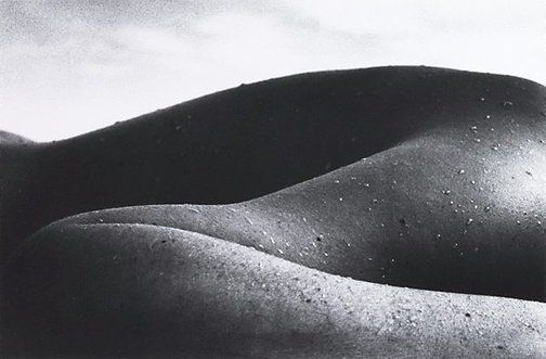 Landscape nude I by David Moore
