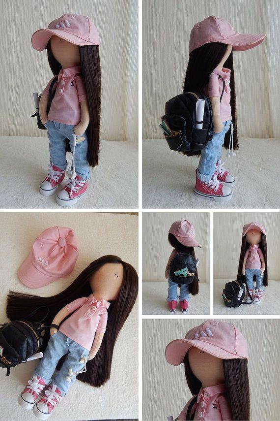 Fabric doll Decor doll Handmade doll Tilda by AnnKirillartPlace