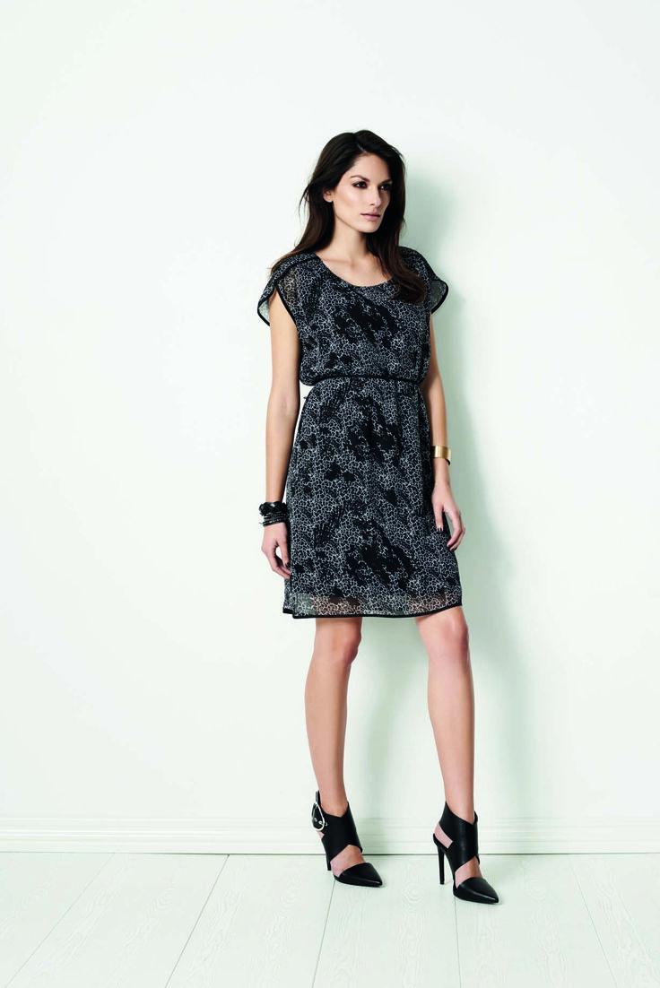 soyaconcept - dress - pattern - printet