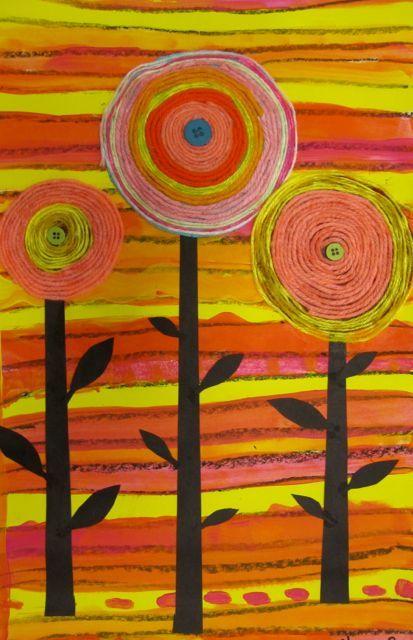 Georgetown Elementary Art Blog Great for a hundertwasser project