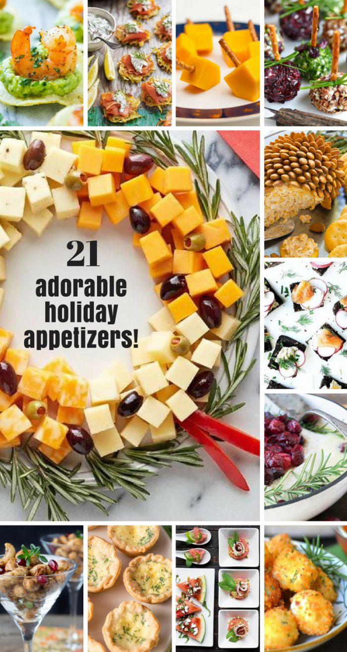 1000+ Ideas About Christmas Appetizers On Pinterest