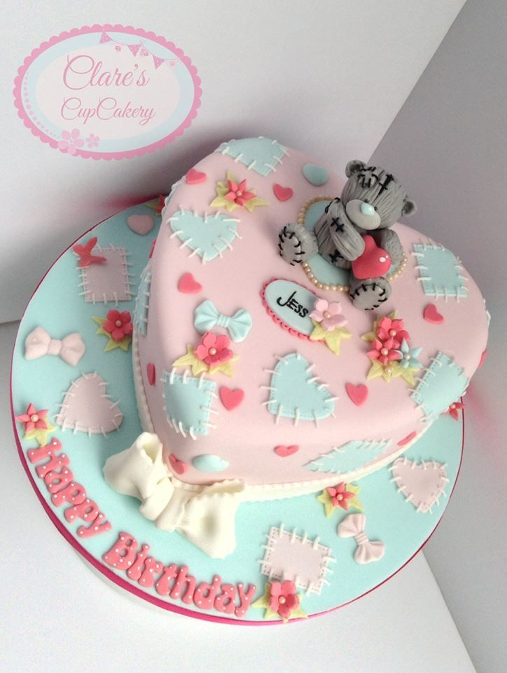 Tatty Teddy Cake - For all your cake decorating supplies, please visit craftcompany.co.uk