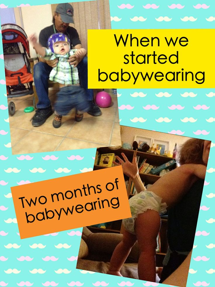 Proof that babywearing works!