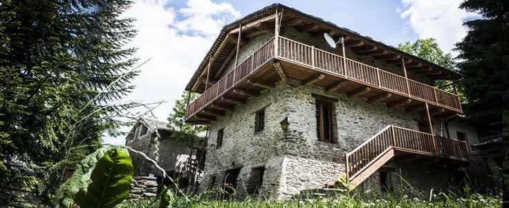 tipica costruzione montana