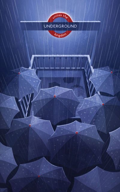 We Love London In The Rain - Viktoria Anopolska, Underground Unites