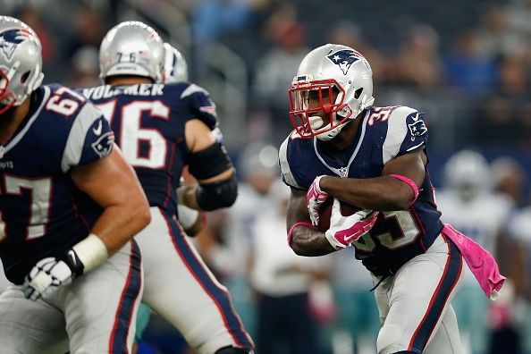 New England Patriots RUMORS: Dion Lewis Will Play Against Miami Dolphins -   The New England Patriots will reportedly play running back Dion Lewis Thursday night against the Miami Dolphins. -   By Henry Buggy | Oct 29, 2015 01:11 PM EDT
