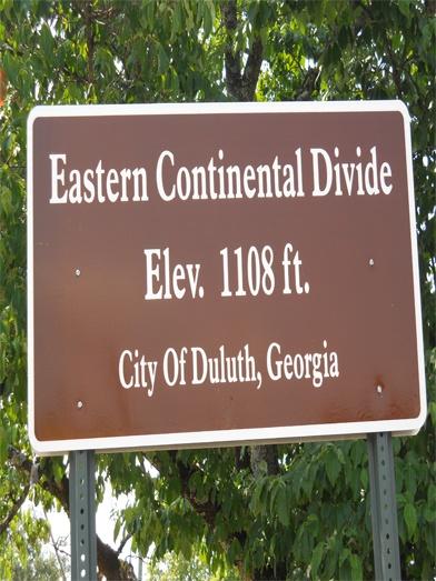Duluth, GA Eastern Continental Divide #Georgia #Gwinnett