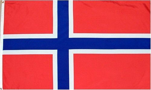 """Norway Flag 3 x 5 NEW Polyester 3x5 Norwegian Banner by Country Flags """"M-N"""". $4.83. 2 Metal Grommets For Eash Mounting with Canvas Hem for long lasting strength. FAST SHIPPER: Ships in 1 Business Day; usually the Same Day if pmnt clears by noon CST. 3 Foot by 5 Foot, Indoor-Outdoor, Lightweight Polyester Flag with Sharp Vivd Colors. Express Domestic Shipping is OVERNITE 98% of the time, otherwise 2-day.. Express International Shipping is Global Express Mail (2-3 da..."""