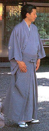 Мужская японская одежда. Хакама. (С) Ольга Хованчук, 2004