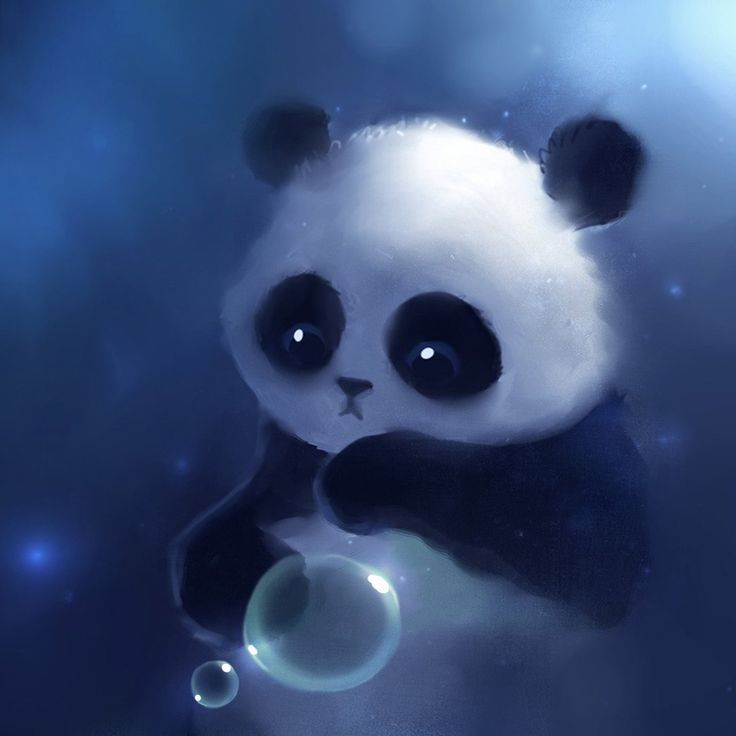 Cute Anime Panda Wallpaper