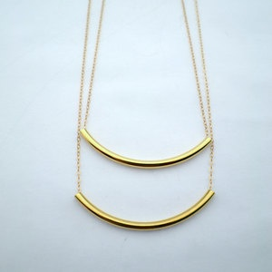 Layer Necklace Gold-Plate now featured on Fab.