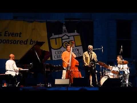 Pharoah Sanders at the 2013 Iowa City Jazz Festival - YouTube