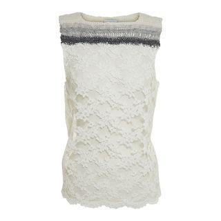 1.835 Top laces crochet side. via The Cools