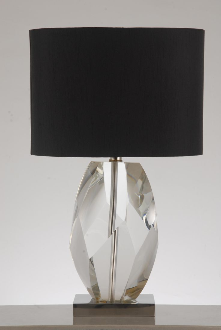 Wh wholesale vintage lead crystal table lamp buy cheap - Crystal Diamond Base Table Lamp By Tl Custom Lighting