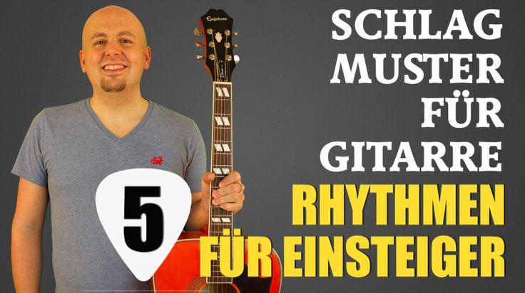 Gitarre lernen: 5 Anschlagsvarianten für die rechte Hand!