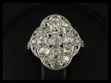Um 1910 Antiker Platin Gold Diamant Ring der Belle Epoque Verlobungsring | eBay