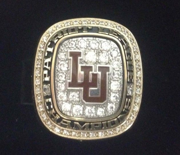 Lehigh Shows Off Patriot League Lacrosse Championship Rings