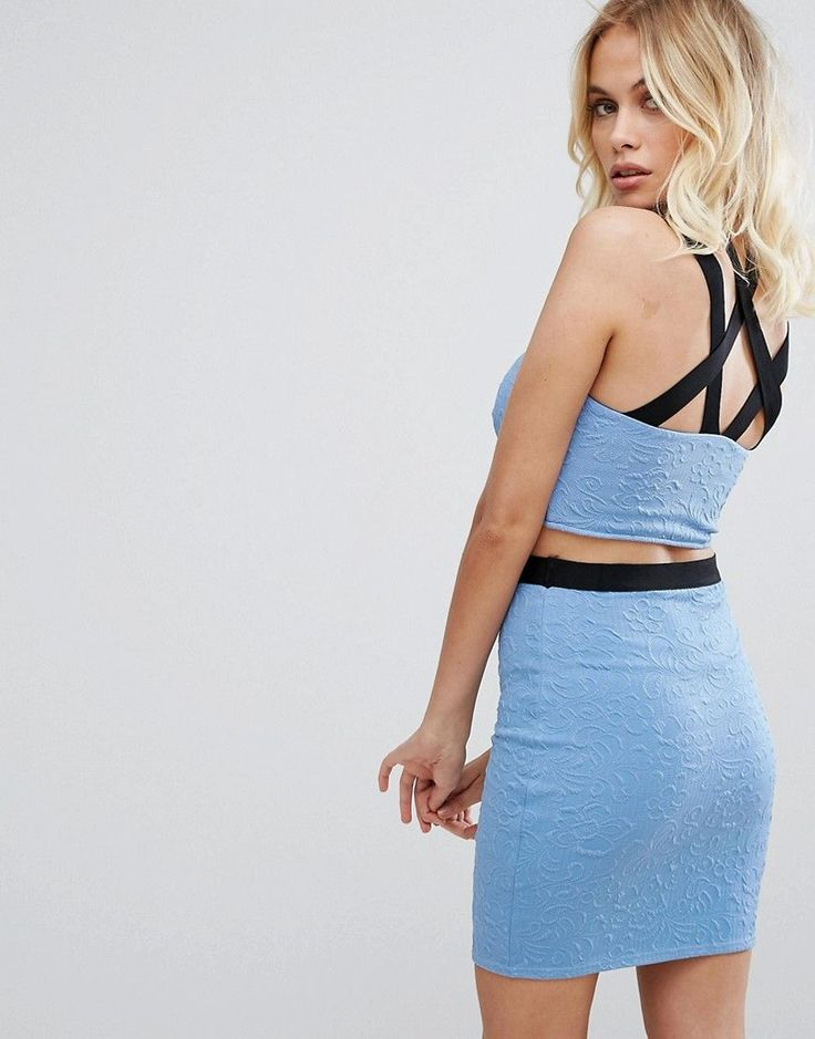 Buy it now. City Godess Strappy Crop Top - Blue. Top by City Goddess, Textured knitted fabric, Sweetheart neck, Contrast straps with caged back detail, Cropped length, Slim fit - cut close to the body, Machine wash, 97% Polyester, 3% Elastane, Our model wears a Small-Medium. , topcorto, croptops, croptop, croptops, croptop, topcrop, topscrops, cropped, topbailarina, corto, camisolacorta, crop, croppedt-shirt, kurzestop, topcorto, topcourt, topcorto, cortos. Navy City Goddess  crop top  for…