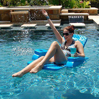 TRC Recreation Folding Baja Chair Foam Pool Float | from hayneedle.com