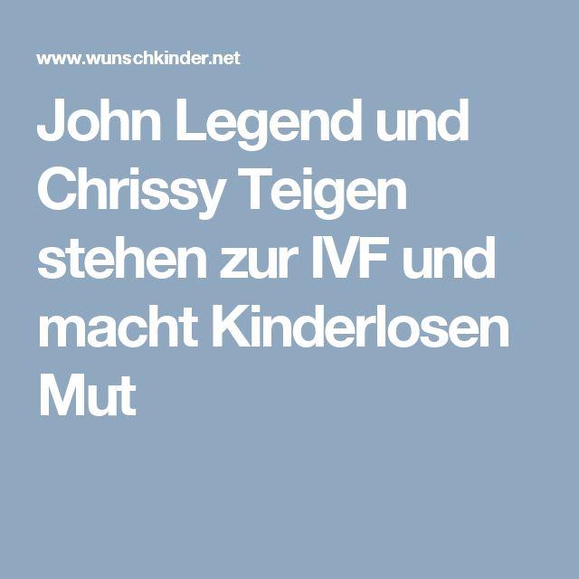John Legend und Chrissy Teigen stehen zur IVF und macht Kinderlosen Mut