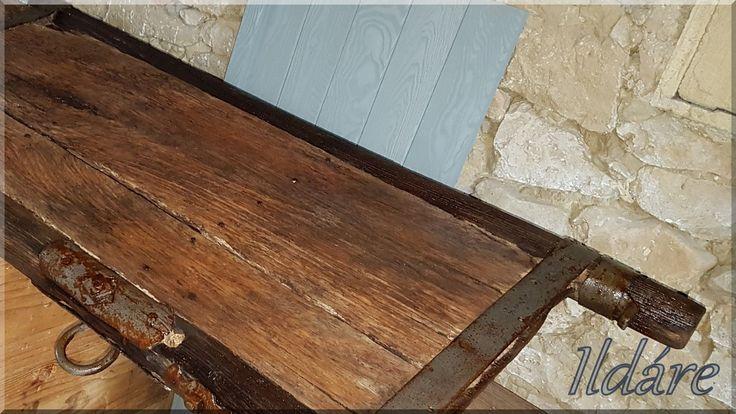 Szekéroldal, régi szekér vintage dekoráció