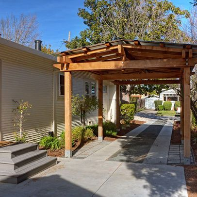 1000 images about carport on pinterest canon wooden for Backyard garage plans