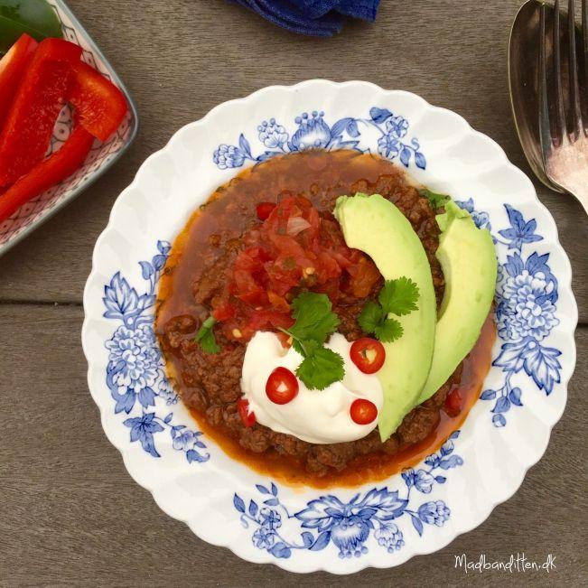 Mad til mange: Chili con carne