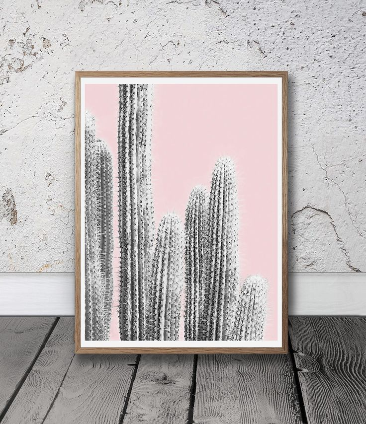 Pink Wall Art - Cactus Printable, Digital Download, Bohemian Home Decor, Modern Prints, Southwestern Print, Arizona Cactus Print, Blush Pink by SisiAndSeb on Etsy https://www.etsy.com/listing/519830827/pink-wall-art-cactus-printable-digital