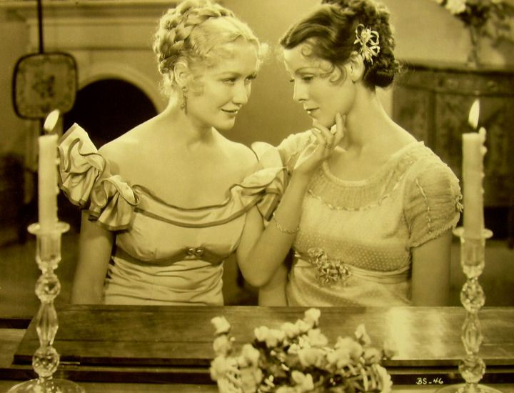 Miriam Hopkins And Frances Dee In Becky Sharp Classic Movie Stars Miriam Hopkins Becky Sharp